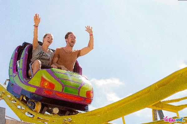 Atracciones en Cancún, la única montaña rusa en la Zona Hotelera