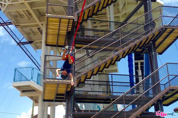 Atracciones en Cancún, saltar en bungee en Ventura Park