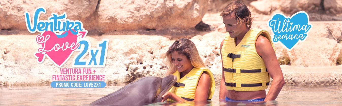 Ventura Love - Promoción 2x1 Nado con Delfines.