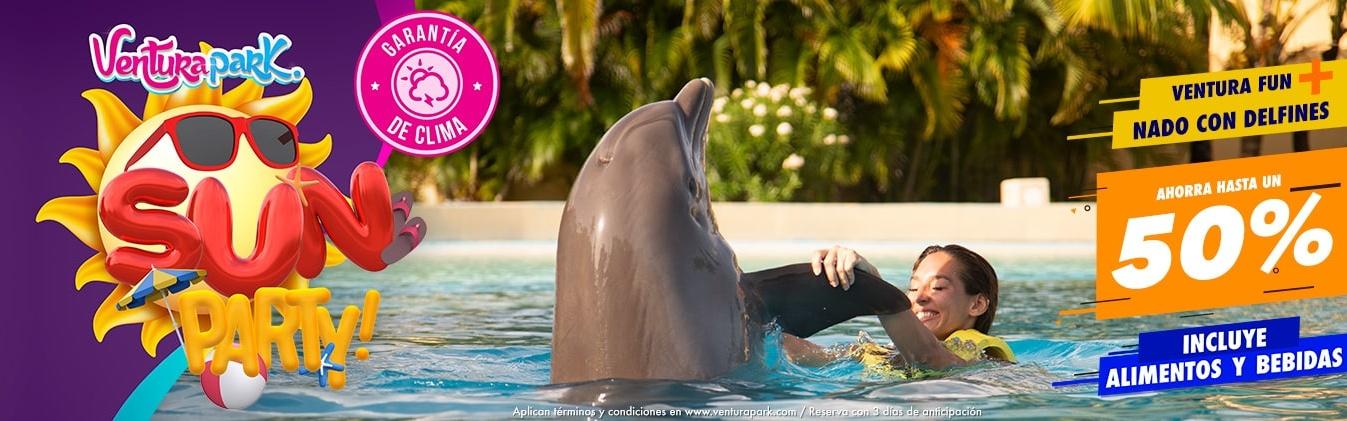 ¡Vive la Semana Santa como nunca antes! Nada con Delfines en Ventura Park