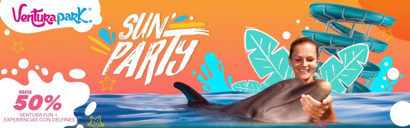 La experiencia más completa esta aquí. Ahora Nado Con Delfines + Ventura Park