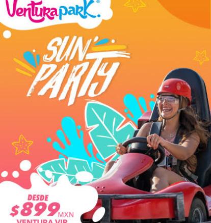Disfruta del verano con la entrada Ventura VIP desde 899 MX.