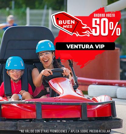 VIP ahorra hasta el 50 % de Descuento